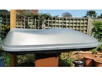 Halfords roof box