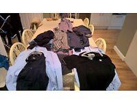 Large bundle of mens clothes including designer..