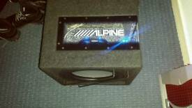 Subwoofer alpine 800W