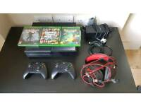 Xbox one, games, headset & wires