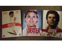 Dexter Seasons 1, 2 & 3