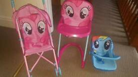 My little pony baby doll set