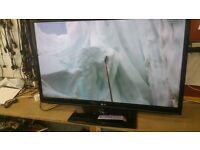 "LG 50"" PLASMA TV IN FULL WORKING ORDER"