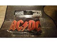 Men's ACDC Hoodie Size Medium Brand New