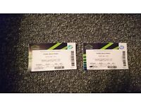 2 tickets to see Maxi Priest and Shabba Ranks