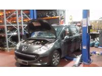 PEUGEOT 207 ESTATE GREY 2008 BREAKING MOST PARTS AVAILABLE