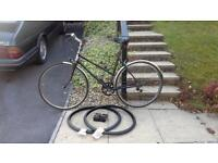 Ladies bike for sale, adult size, 5 speed, plus spares