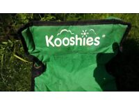 kids green Kooshies camping chair