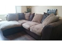 Denver Right Corner 4 Seater Sofa - FOR SALE - (clean and tidy owner)