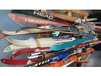Variety of skis available