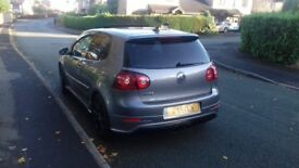 Grey VW R32 Golf - 2008 - Leather, Sunroof, DVD/Sat Nav, Excellent Condition