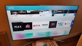 SAMSUNG 55-inch SUPER Smart 4K HDR LED TV-55MU6400,built in Wifi,BLUETOOTH,TV PLUS,GREAT Condition
