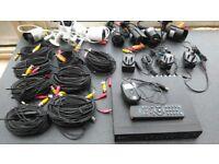 SOLD AWAITING COLLECTION - Sunluxy CCTV H.264 700TVL - DVR - 8ch - 8cam - 1TB HDD