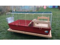 Large guinea pig cage and lots of accessories