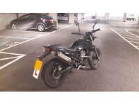 Derbi Mulhacen 125cc (Black)