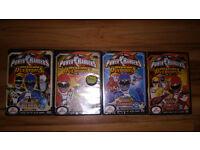 Power Rangers DVD's – Operation Overdirve