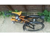 Dahon Speed Pro 21 Speed Folding Bike Brompton Beater