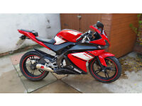 2011 YZF R125, Double Bubble screen, Scorpion Exhaust and more