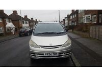 Toyota Previa 2362l uses LPG gas and petrol