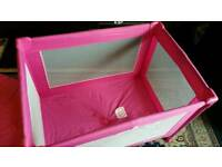 Pink playpen in great condition. £20