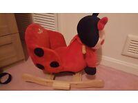 Ladybug rocker