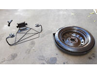 "BMW Z3 16"" Spare Wheel, Holder, Rack & Mounting Kit"