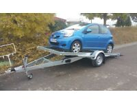 NEW CARS TRAILER RECOVERY TRANSPORTER SINGLE AXLE £1900 inc vat