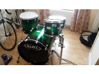 Mapex Saturn Series Drum Kit - with snare and cases!!