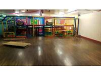 Childrens Indoor Playhouse Area 10x10m