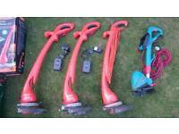 3 X flymo 1 x bosch strimmer trimmer faulty spears and repairs