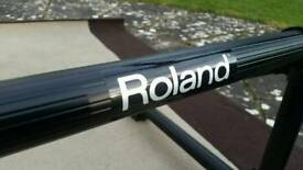 Roland rack for electronic Vdrums drum kit