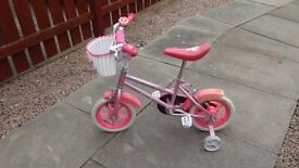 Pink Bicycle Sparkle n Glitz 12 inch