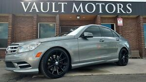 2011 Mercedes-Benz C-Class C300 4MATIC BRAND NEW TIRES&RIMS NO A