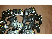Job Lot / Bulk working xbox 360 controllers