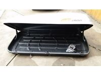 RBX 4500 Roof Box ideal for camping holidays