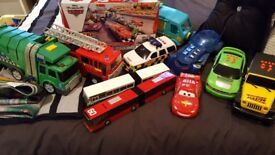 Toy cars large bundle including Lightening McQueen