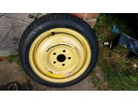 "Honda civic type r type s space saver spare wheel 15"" 2001/2010"