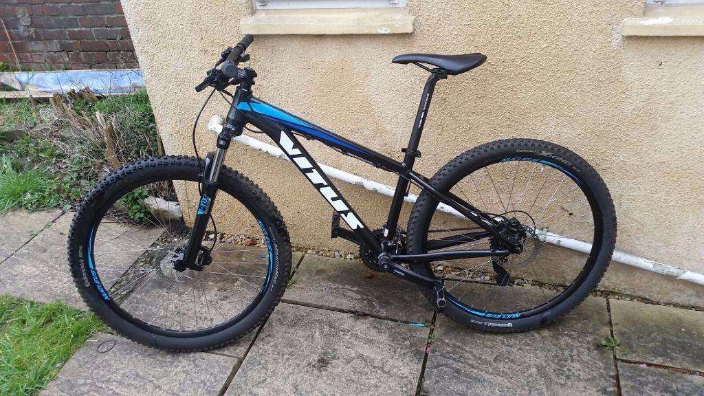 bike hardtail men vitus bikes nucleus 275 year 2015