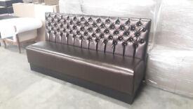 Elegant bench for restaurants, cafe shops