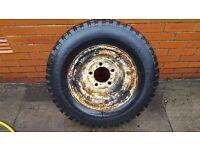 Split Rim with 205 R16 Tyre (Land Rover)