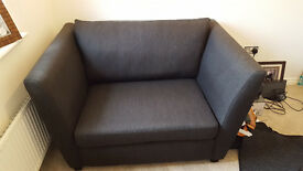 4 and 3 Seater sofa with cuddler chair