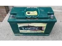 Large heavy duty 110ah leisure battery for sale