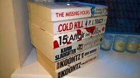 Selection of Crime/Thriller Books