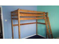 Children's Wooden single Bunk-bed