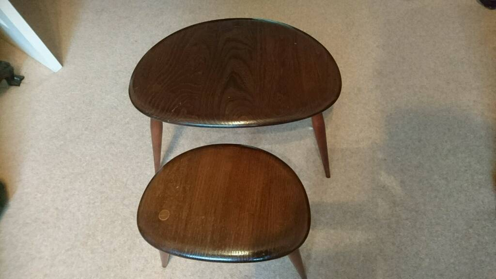 S nest of 2 ercol pebble tables in High Wycombe  : 86 from www.gumtree.com size 1024 x 576 jpeg 49kB