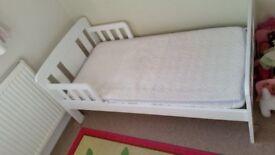 John Lewis Boris Junior Toddler Bed, white