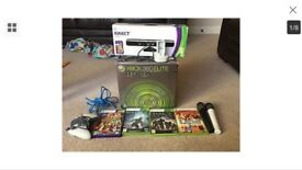 Xbox 360 with Kinect and games