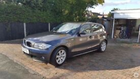 BMW 118d SE gun metal grey immaculate £1000 spent on it with receipt proof