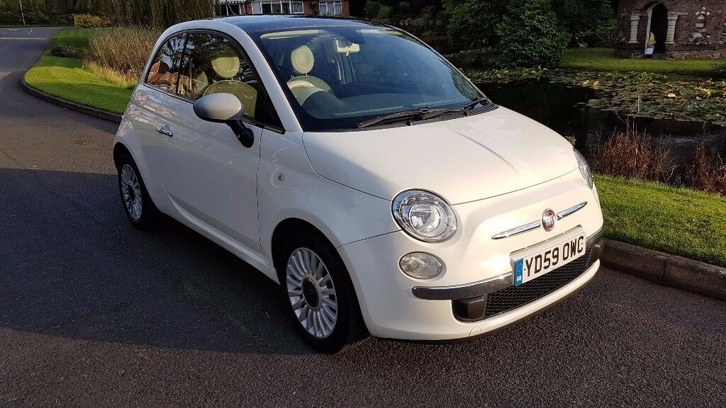 Fiat 500 1.2 Lounge Manual 3 Door Petrol