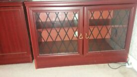 Antique Solid Mahogany Wooden Unit in Excellent Condition
